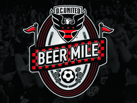 DC United Beer Mile Logo