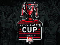 DC United Last Call at RFK Cup Logo