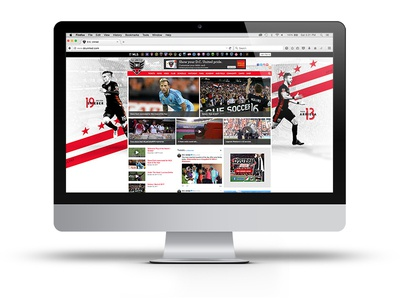 DC United Website Background sports web graphics soccer major league soccer mls dc united
