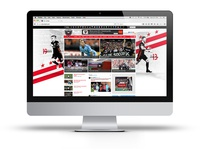 DC United Website Background