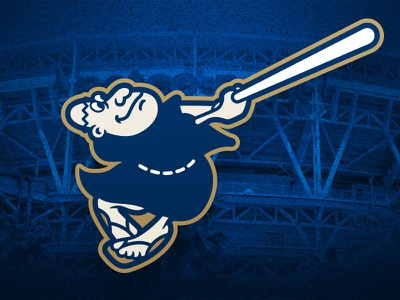 San Diego Padres Swinging Friar Update san diego padres baseball logos sports