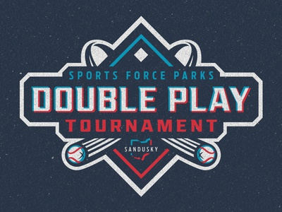 Sports Force Parks Double Play Tournament Logo