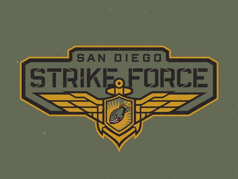 Sdstrikeforce wordmark