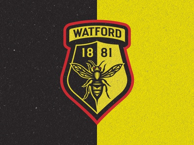 Watford FC Rebrand Competition — Finalist crest hornet england premier league soccer football