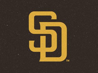 San Diego Padres 2020 Rebrand mascot swingin friar custom font san diego padres baseball branding sports