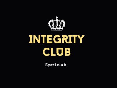 Logo for Integrity gym web-design illustration logo