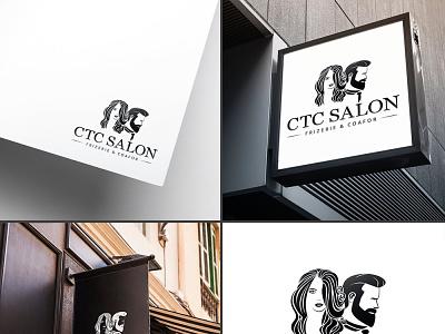 CTC Salon salon branding logo design