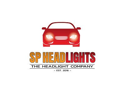 SP Headlights headlights cars logo