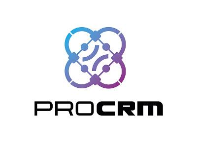 ProCRM design crm it logo database