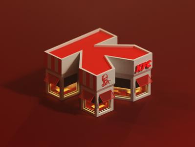 K Letter - 36 Days of Type