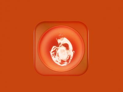 Tinder icon gif animaton render blender3d blender 3d icon app tinder