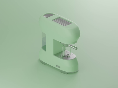coffee Machine espresso machine coffe coffee low poly lowpoly animtion 3d art render blender blender3d