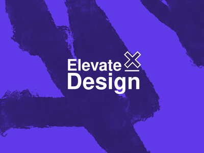 Elevate Design - Logo Exploration & Branding icon vector design typography logo helvetica typography brandid procreate branding and identity sketch logo design branding logo