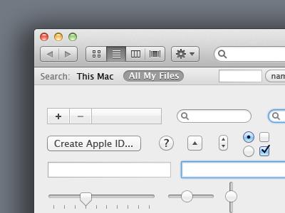 Lion Ui Kit Preview mac os mac lion ui kit free mockup design mockups