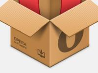 Opera offline installer icon