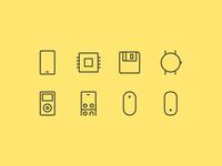Hardware icons 2