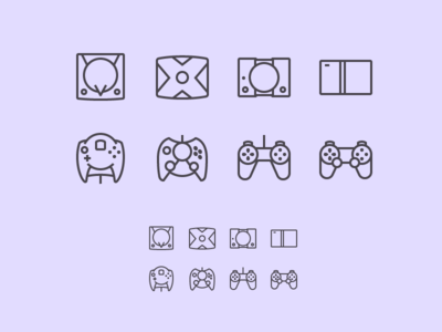 Console icons 2
