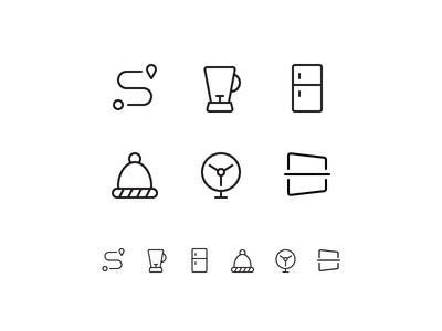 Random icons 22 winter path map freezer perspective fan tab bar ios icons outline iphone