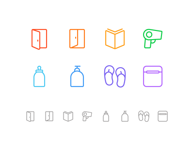 Random icons 24 airpods case summer dryer icons outline read book logout login