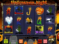 Halloween night slot machine game design game art graveyard graphic for slot graphic design design nightmare illustration candles ui witch fire zombie pumpkin bat pot candle black cat halloween