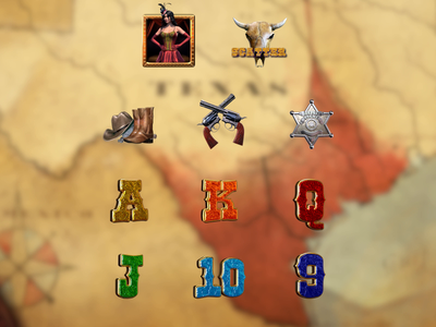 Set of symbols Animation wild west symbols wild west slot cowboy symbols slot game design animated gif slot game symbols symbols animation slot game art slot animation animation animated symbols slot symbols game design illustrations digital art slot machine game art slot design