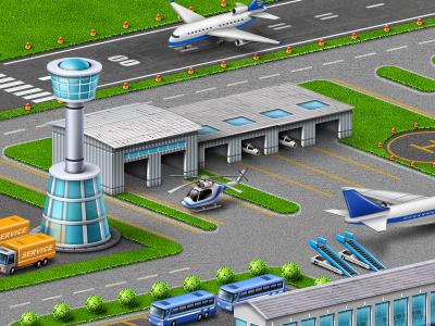Airport cut 3