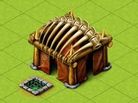 Dino's hut