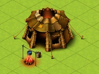 robber's hut