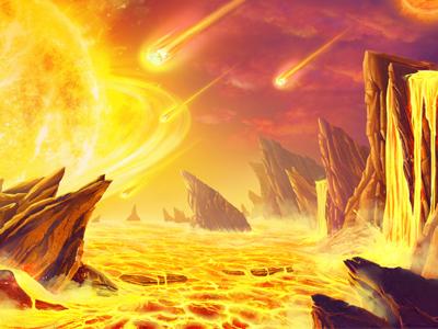 Super Phoenix background