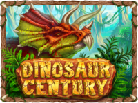 "Game logo for ""Dinosaur Century"""