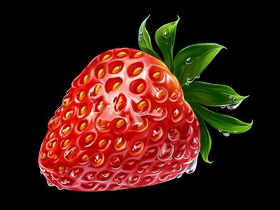 Strawberries slotopaint.com ico icon icons illustrations pixel pixel art pixel icons web