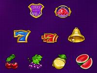 "Animated symbols set for slot ""Red Diamond"""