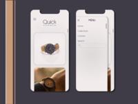 Watch App Design   Ecommerce