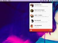 Infinit : new UI