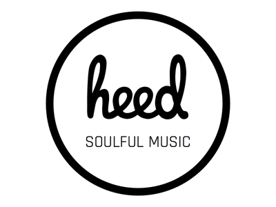 heed logo soulful house techno electronic logo music heed