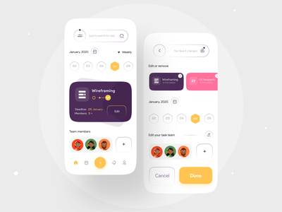 Team task Management app UI team teamwork task app tracker tracking app clean uiux mobile app task manager task management app task management tasks task light 3d illustration icons minimal activity component