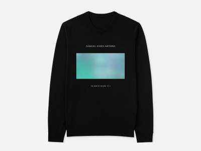 Merch Samuel Eisen Meyers layout typography music clothing