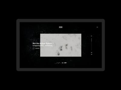 NIN — Cold Black and Infinite