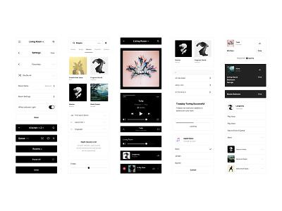 Sonos App Redesign sonos music player app product audio ui speakers design system