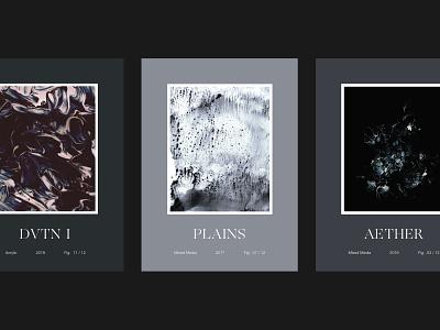 Editions Postcards abstract ogg print art postcard