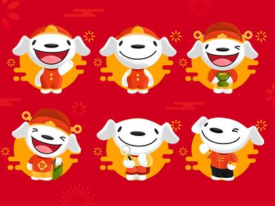 JD_Joy character red dribbble illustration design