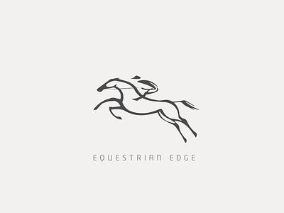 Equestrian Edge - Brand Identity brand identity logo varun mohapatra equestrian edge design