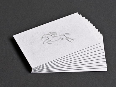 Equestrian Edge - Visiting Card design print varun mohapatra brand identity equestrian edge