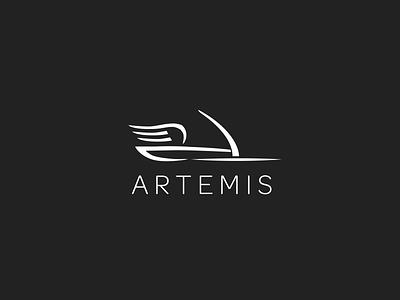 Artemis - Brand Identity exhibition store god goddess greek artemis