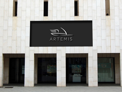 Artemis Storefront Dribbble storefront exhibition store god goddess greek artemis