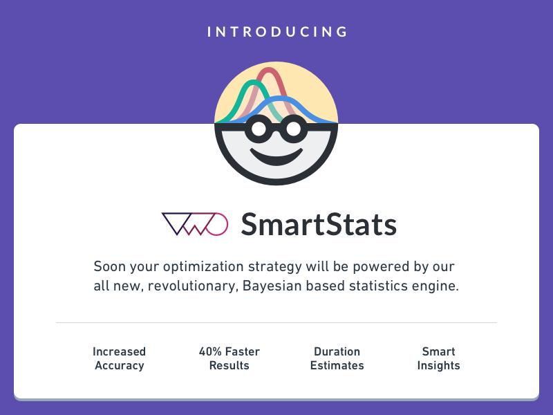 VWO introduces SmartStats bayesian optimizer website visual testing ab statistics stats smart smartstats vwo