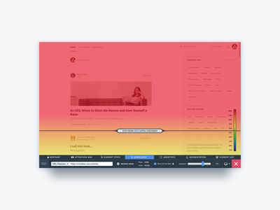 VWO Scrollmaps website visual visitor viewer user session screen saas scollmap scroll optimizer heatmaps