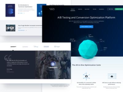 VWO - New Website   Conversion Optimization Platform website webpage web vwo visual platform optimizer home