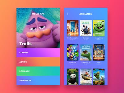 Movie Service App UI