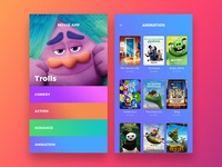 Movie Service App UI